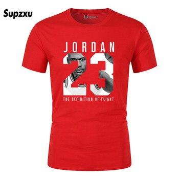 Men's T-shirt Cotton Crew-neck T-shirt Summer Men Casual T-shirt XS-2XL Fashion Loose T-shirt 2020 New Jordan 23 цена 2017