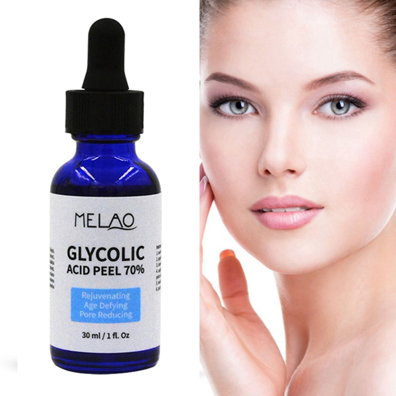 Glycolic Acid Peel 70% Shrink Pores Brighten Skin Color Balance Water And Oil Improve Acne Skin