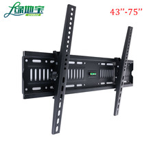 LVDIBAO TV Wall Mount Bracket , Tilt Adjustable TV Support For 43''-75'' LED LCD TVs Load up to 70kg VESA 600*400