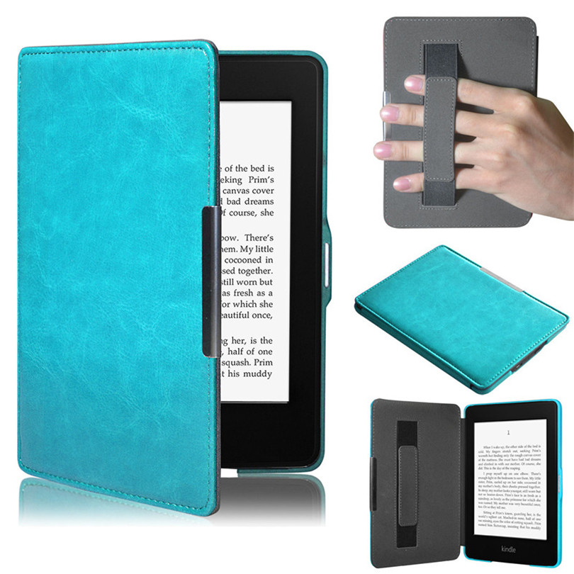 6inch Tablet Case Cover Ultra Slim Smart Leather Magnetic Case Cover For Amazon Kindle Paperwhite 5 Protective