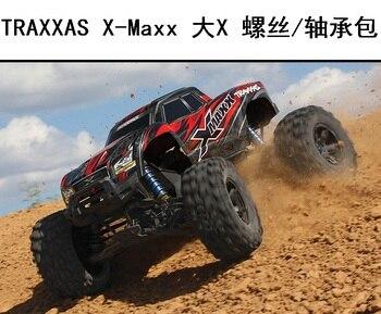 12.9 grade golden anti-rust screws and Bearings set for Traxxas x-maxx