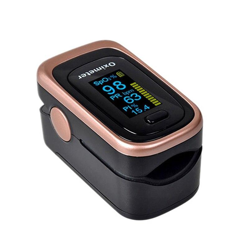 Finger Pulse Oximeter 4 Parameter Spo2 Pr Pi Odi4 Finger Oximeter 8 Hour Sleep Monitoring With Case