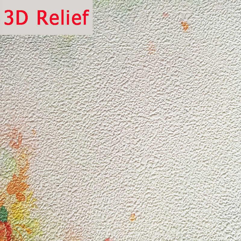 العرف خلفية ثلاثية الأبعاد الأزرق المائية حائط الخلفية ريشة بيضاء الجداريات غرفة المعيشة غرفة نوم الفن الحديث مجردة ثلاثية الأبعاد ورق الحائط