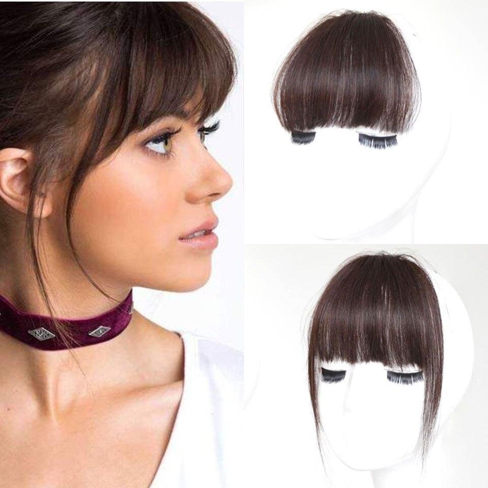 Женский парик MUMUPI, накладные волосы на заколках с бахромой, накладные волосы для наращивания спереди
