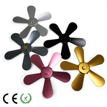 Cooling and ventilating parts Fireplace parts Fireplace fan fittings Aluminum alloy fan blades 5 leaves