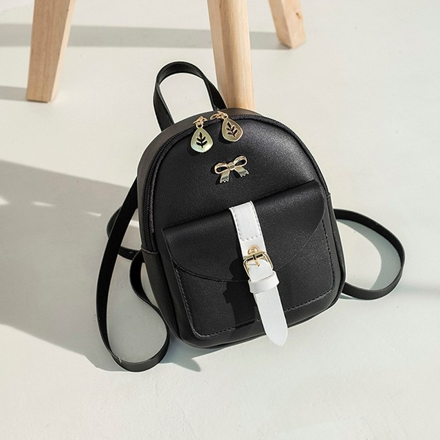 Women's Mini Backpack Luxury PU Leather Kawaii Backpack Cute Graceful Bagpack Small School Bags for Girls mochila mujer #T1P