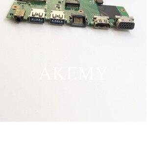 Image 4 - X550EP 마더 E2 6100 CPU 4GB RAM For Asus X550E X550EP X550E D552E X552E 노트북 마더 보드 X550EP 메인 보드 테스트 100% OK