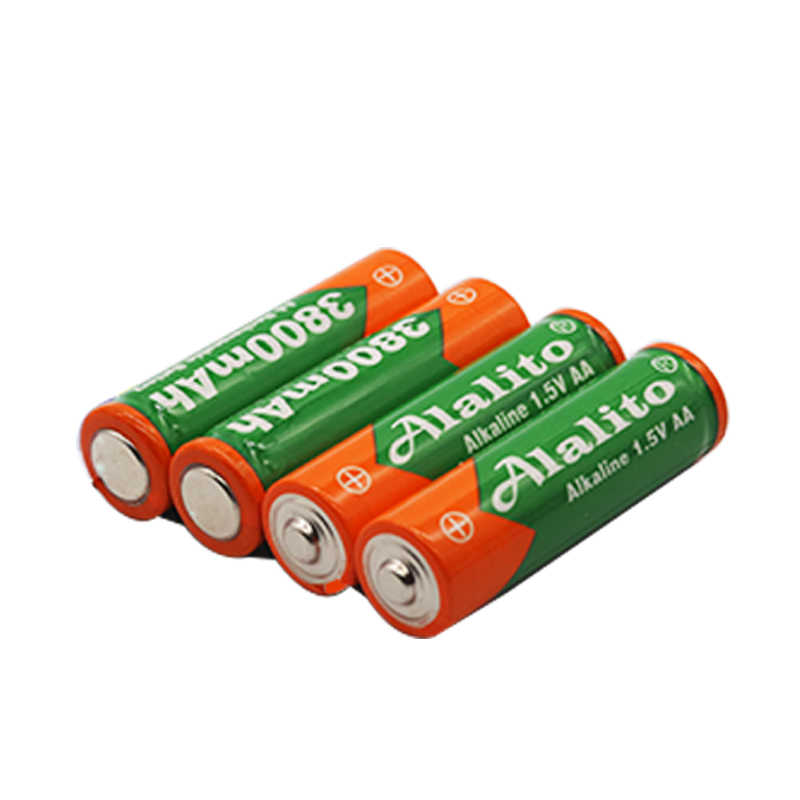 2019 Новая батарея AA 3800 1,5 v перезаряжаемая батарея AA 3000mAh Щелочная v аккумуляторная батарея для часов игрушки батареи камеры