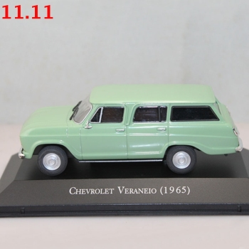IXO 1:43 Scale For Chevrolet Veraneio 1965 Metal Diecast Toys Car Models Christmas Gift image