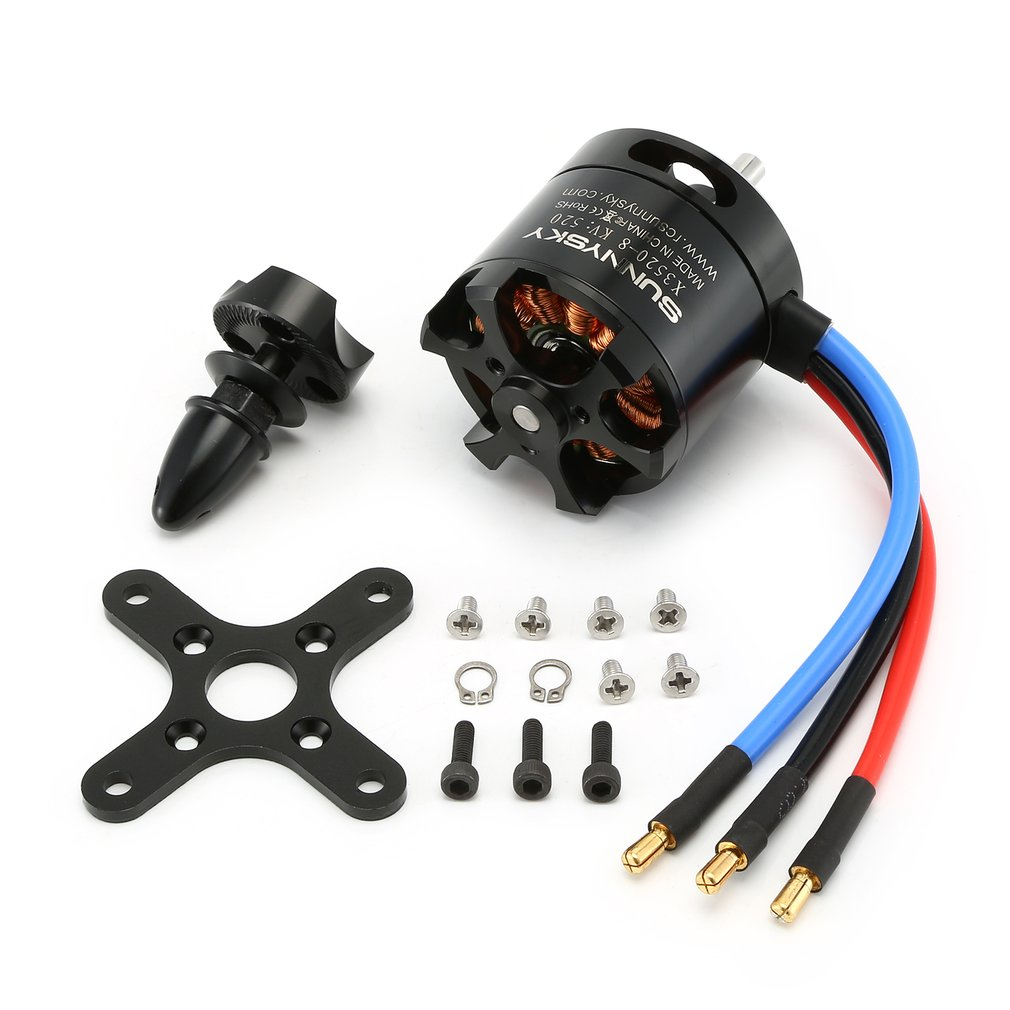 SUNNYSKY X3520 520KV/720KV/880KV Brushless Motor for Fixed   Wing 3D RC Drone Helicopter Airplane Parts Accessories|Parts & Accessories| |  - title=