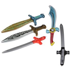 1 шт. Детские садовые игрушки детские игрушки пиратские мечи форма аниме надувные мечи детские подарки новые надувные уличные игрушки