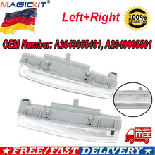MagicKit пара A2049065401 A2049065501 светодиодный DRL Дневной светильник лампа для Mercedes Benz W166 ml-класс ML500 X204 ML350 12-15