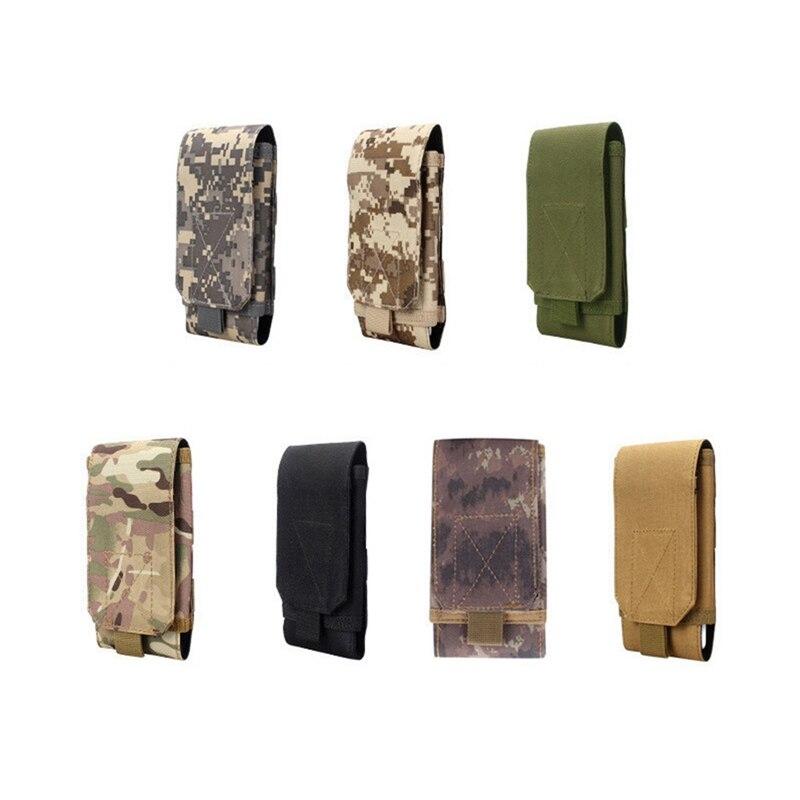 Безопасная уличная камуфляжная сумка, тактический армейский держатель для телефона, спортивный поясной чехол, водонепроницаемый