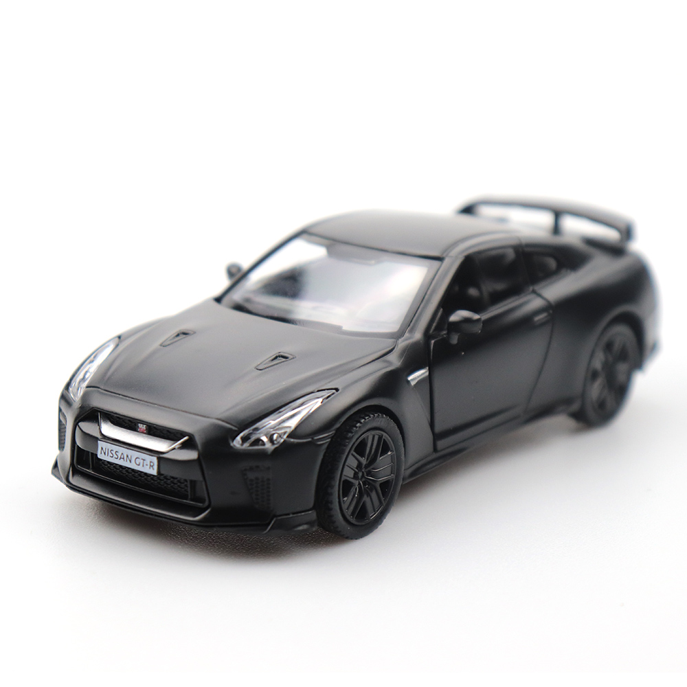 Nissan GT-R R35 1:36 Scale Model Car Diecast Toy Vehicle Collection Gift Black