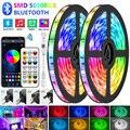 Bluetooth LED Streifen Lichter RGB Warme Weiße Wasserdichte Flexible Band 2835 Led Licht LED lampe RGBWW SMD TV Klebeband Diode für zimmer