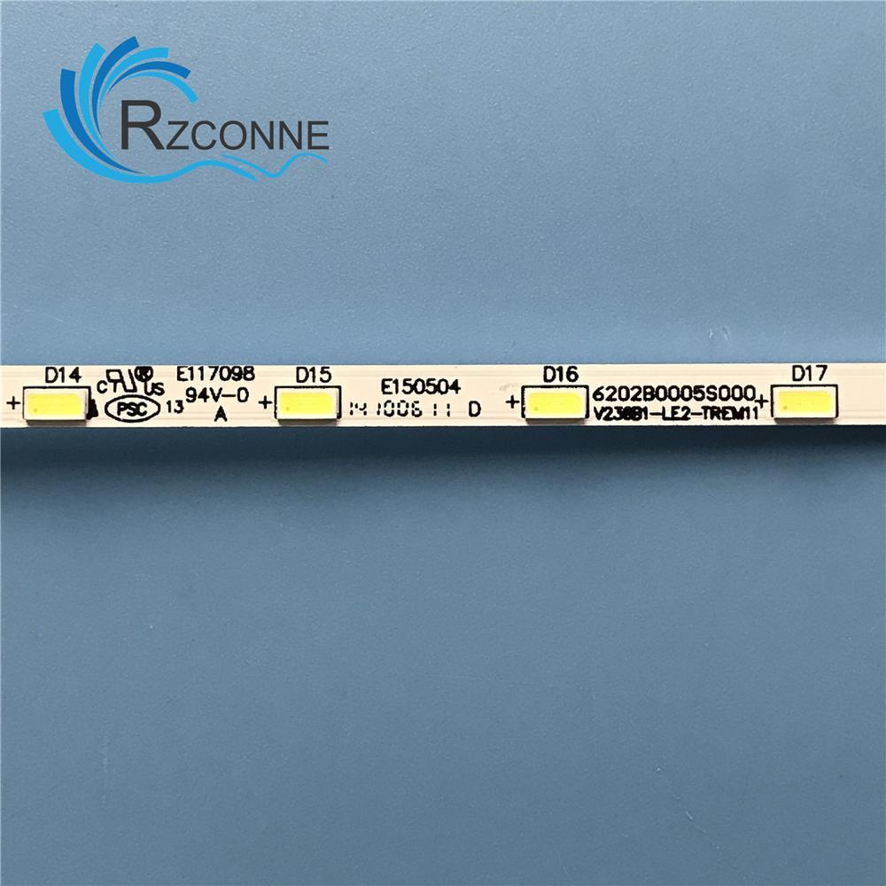 LED Backlight strip 18 lamp for LG INNOTEK 23.6 inch 24MT45D 22MA31D 24MT47D-PZ 24MT40D 24E510E V236B1-LE2-TREM11 V236BJ1-LE2 2