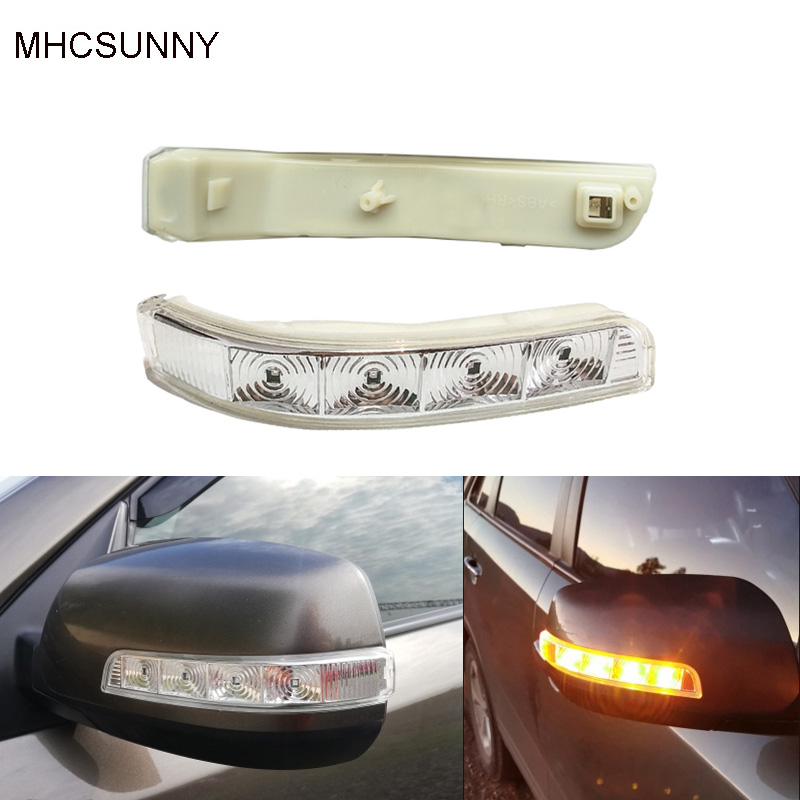 Led Side Mirror Cover Under Light Signal Repeater Lamp For KIA 2003-2009 Sorento