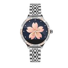 2020 Модные женские умные часы M9 с пульсометром и тонометром IP68 Водонепроницаемые спортивные Смарт часы для Apple xiaomi samsung