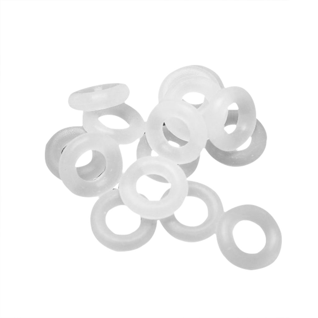110 Pcs White Keycaps Rubber O-Ring Switch Sound Dampeners For Cherry MX Keyboard Dampers Key Cap O Ring Replace