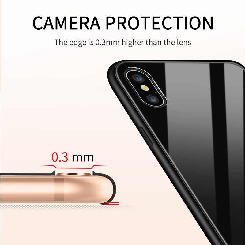 Untuk Samsung Galaxy Note 8 9 10 Note10 Plus Marvel Spiderman Logo Case Tahan Guncangan Lembut Kaca Tempered Penutup Belakang casing