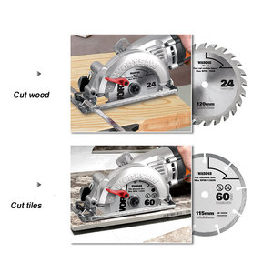 Image 4 - Mini chainsaw wx429 updated from wx423 circular lumbering electric saw angle grinder hand held carpenter cutting guide cutter