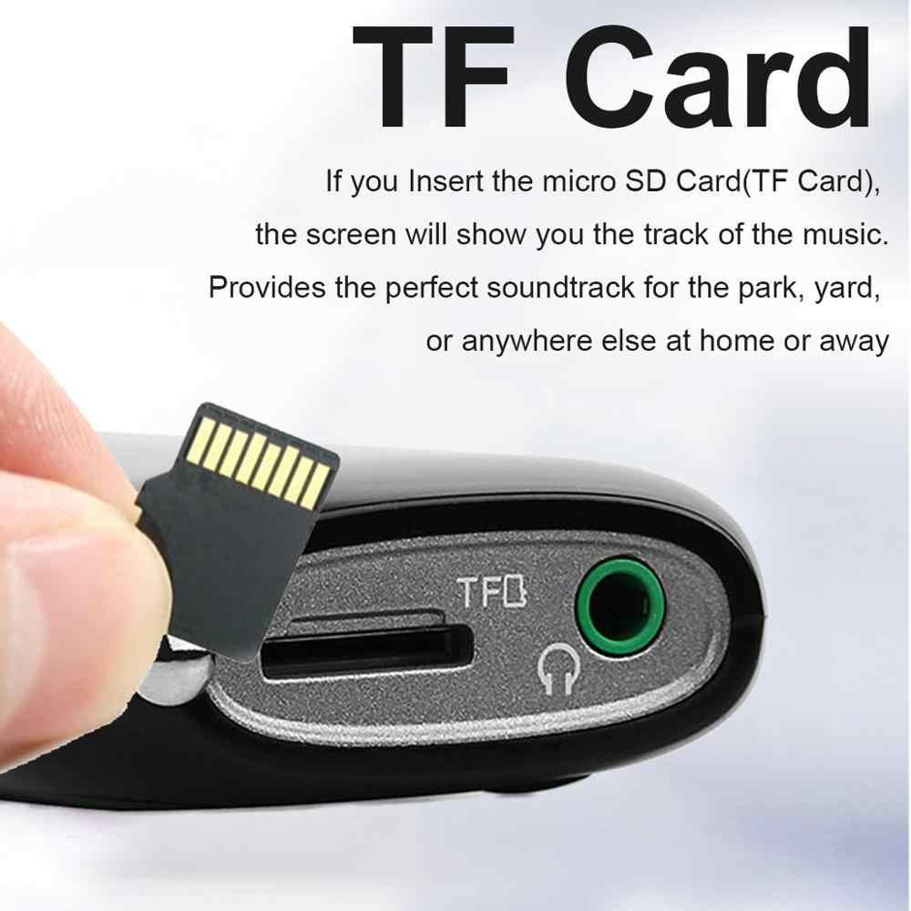 RETEKESS PR12 Radio FM AM Mini receptor de Radio USB de bolsillo Mp3 receptor portátil estéreo Digital soporte tarjeta TF para ancianos