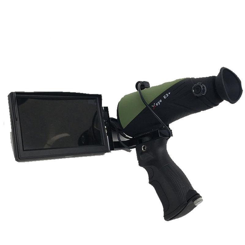 Télescope monoculaire infrarouge de recherche de patrouille de chasse d'instrument de vision nocturne d'imagerie thermique infrarouge de l'e3 HD