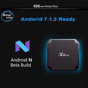 Image 3 - GOTIT X96mini Neo אנדרואיד תיבת 1G/8G & 2G/16G Wifi 4K HD HDMI חכם OTT ספינה מצרפת ספרד רק אין ערוצים כלול