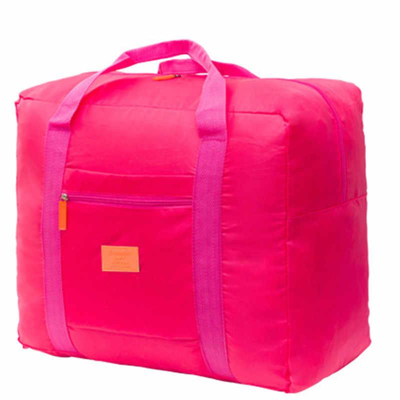 折りたたみトラベルバッグ防水服荷物キャリーオンオーガナイザショルダーダッフルバッグ