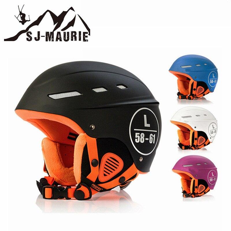 Winter Ski Helmet Men Women Sports Helmet Windproof Motorcycle Skiing Snowboard Skate Skateboard Helmet 4 Colors