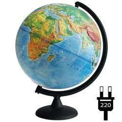 Глобус физический рельефный с подсветкой, диаметр 320 мм