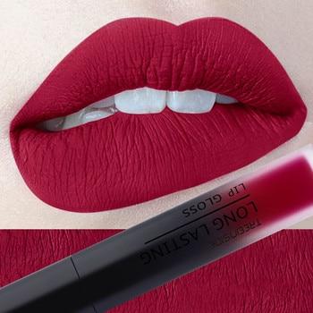 30 color matte liquid lipstick waterproof long lasting lip plumper makeup lipstick velvet gloss lip gloss cosmetics