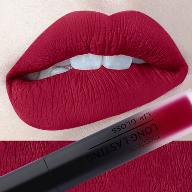 30 color matte liquid lipstick waterproof long lasting lip plumper makeup lipstick velvet gloss lip gloss cosmetics