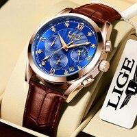 Rose gold blue L