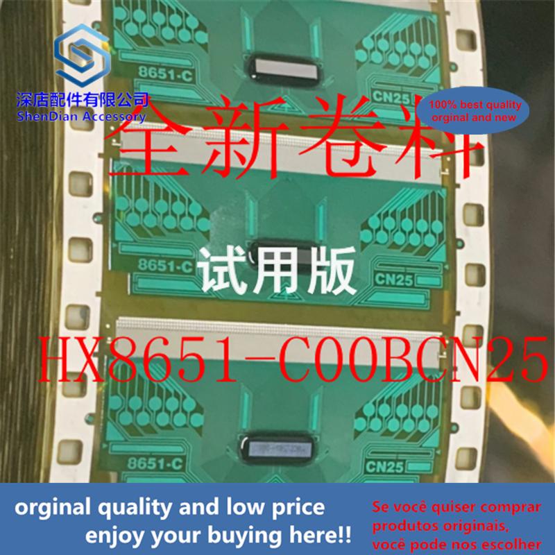 1pcs 100% Orginal And New HX8651-C00BCN25 TAB COF 8651-C CN25 TB-D1 Best Qualtiy