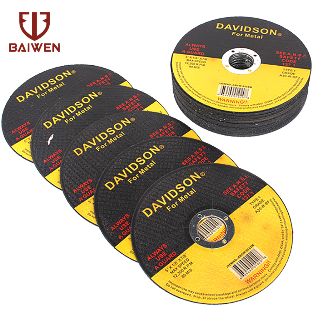 5Pcs-50Pcs 125mm 5inch Metal Stainless Steel Cutting Discs  Flap Sanding Grinding Discs Angle Grinder Wheel Rotary Power Tools