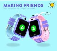 Ip67 impermeável gps telefone relógio 4g para crianças