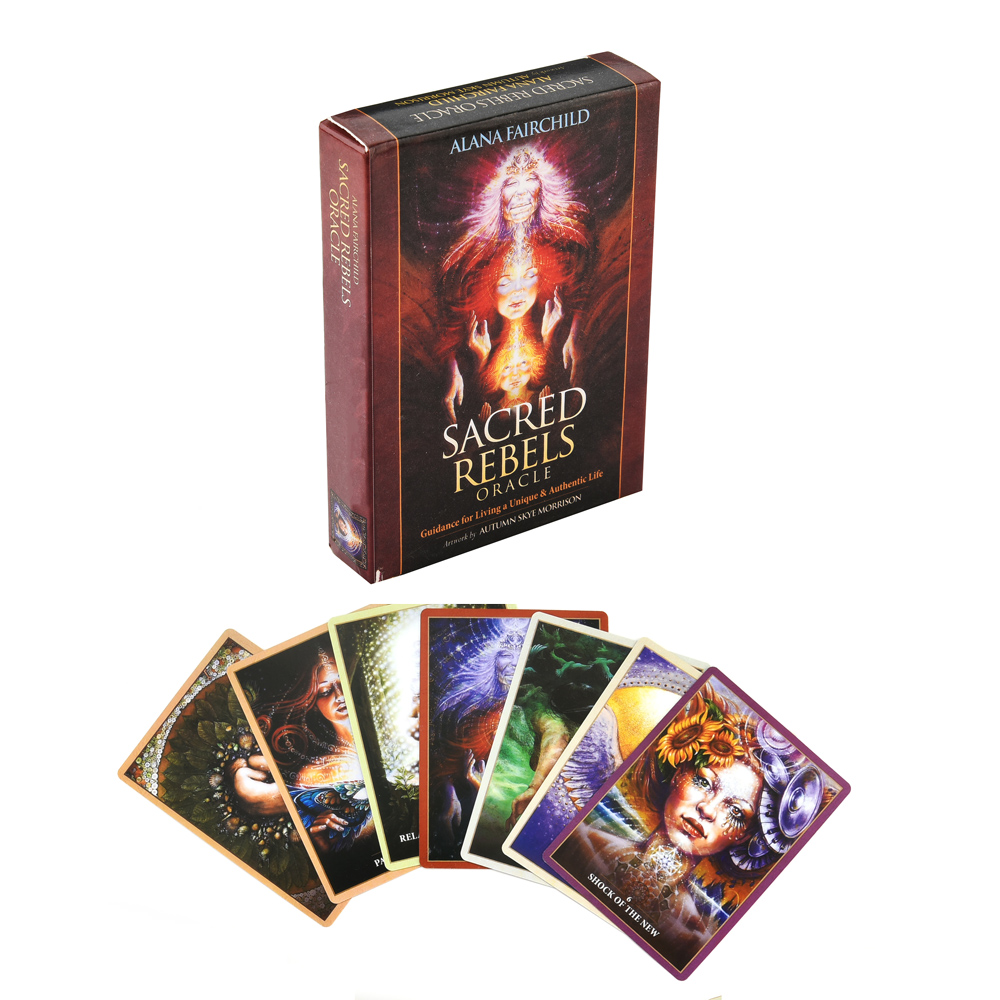 Sacred Rebels Oracle Tarot Card Game Witch Tarot Deck Table Card Board Games Party Playing Cards Entertainment Family Games