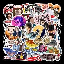 Странные Вещи наклейка s 50 шт Упаковка аниме Pegatina для детей на ноутбук холодильник телефон чемодан для скейтборда забавные наклейки
