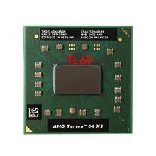 original AMD cpu laptop Turion TL-60 CPU 1M Cache/2.0GHz/Socket S1/Dual-Core Laptop processor