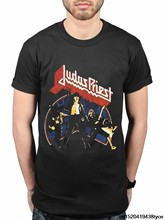 Men'S Summer Casual Judas Priest Unleashed Version 2 V2 New T Shirt Merch Metal Band Design T Shirt Own Style Tees(China)