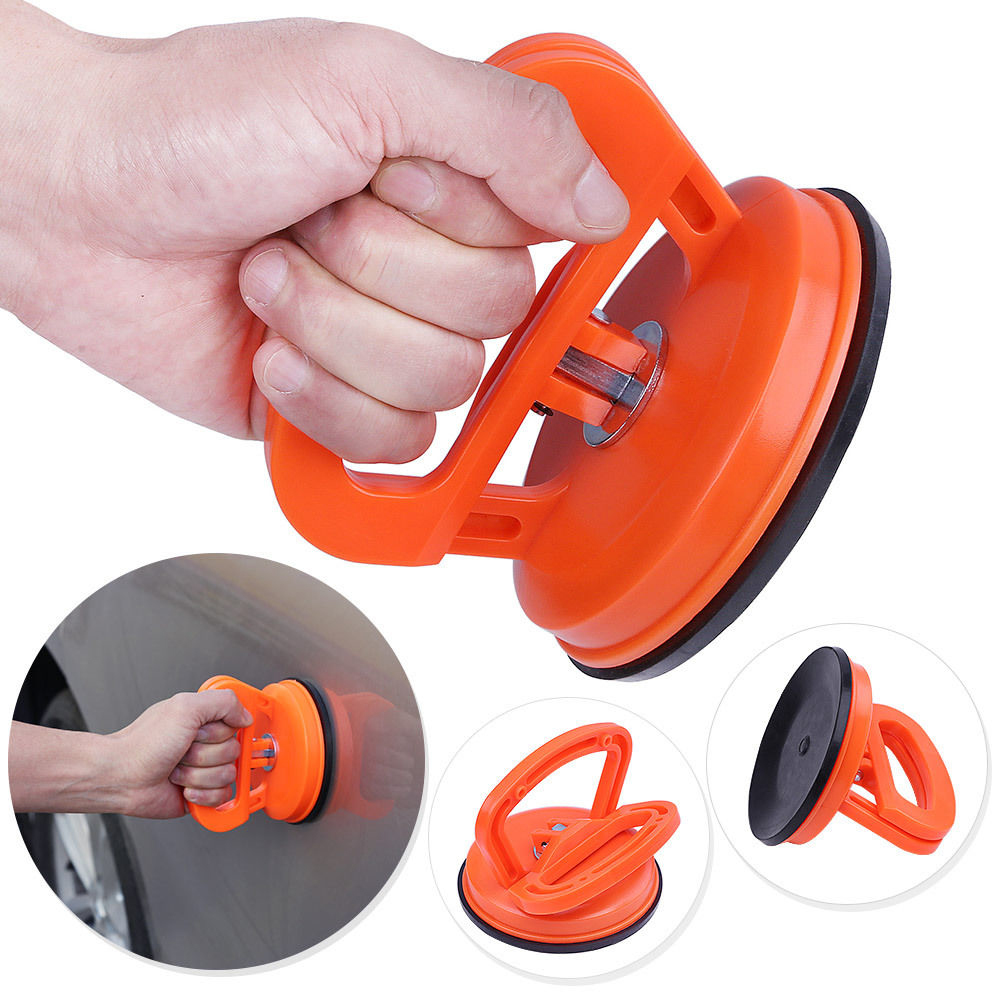 Car Repair Kit Glass Metal Lifter Locking Car Dent Remover Puller Auto Body Dent Removal Tools Super Strong Suction Cup