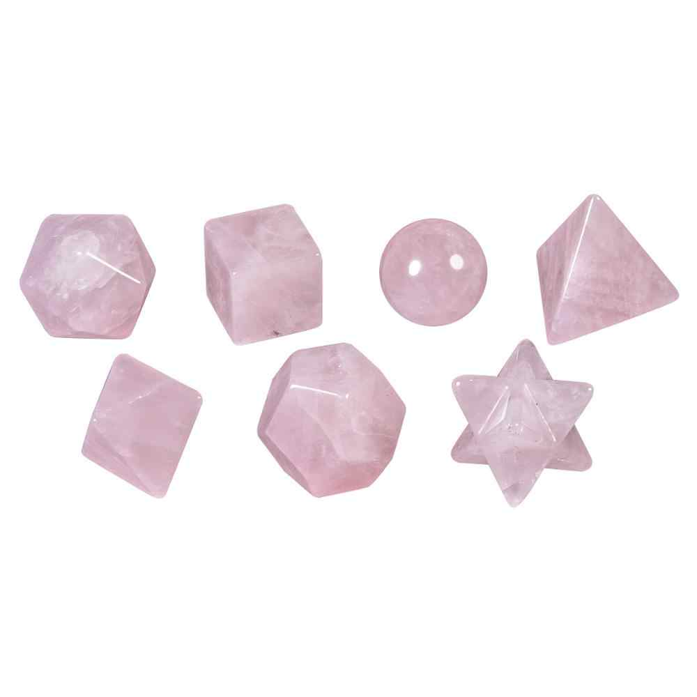 Carved Natural Calcite Gemstone Crystal Merkaba Star Energy Healing Sacred Geometry Chakra Stone