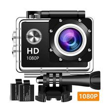 цена на Action Camera HD 1080P Waterproof 140 Degree Wide Angle Lens Sport Camcorders 40M