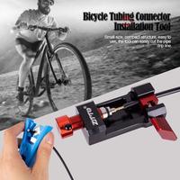 Bicicleta Conector Tubulação De Oliva Cabeça Cortador de Mangueira Instalação Ferramentas Agulha Ferramentas de Encaixes Da Imprensa Cabo de Bicicleta Ciclismo Acessório