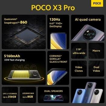 Глобальная версия POCO X3 Pro 6 ГБ 128 Snapdragon 860 5