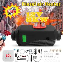 8KW Air Diesel chauffage 12V Air Parking chauffage Diesel chauffage Air Diesel chauffage chauffage pilotes cabine de voitures bus camping-car
