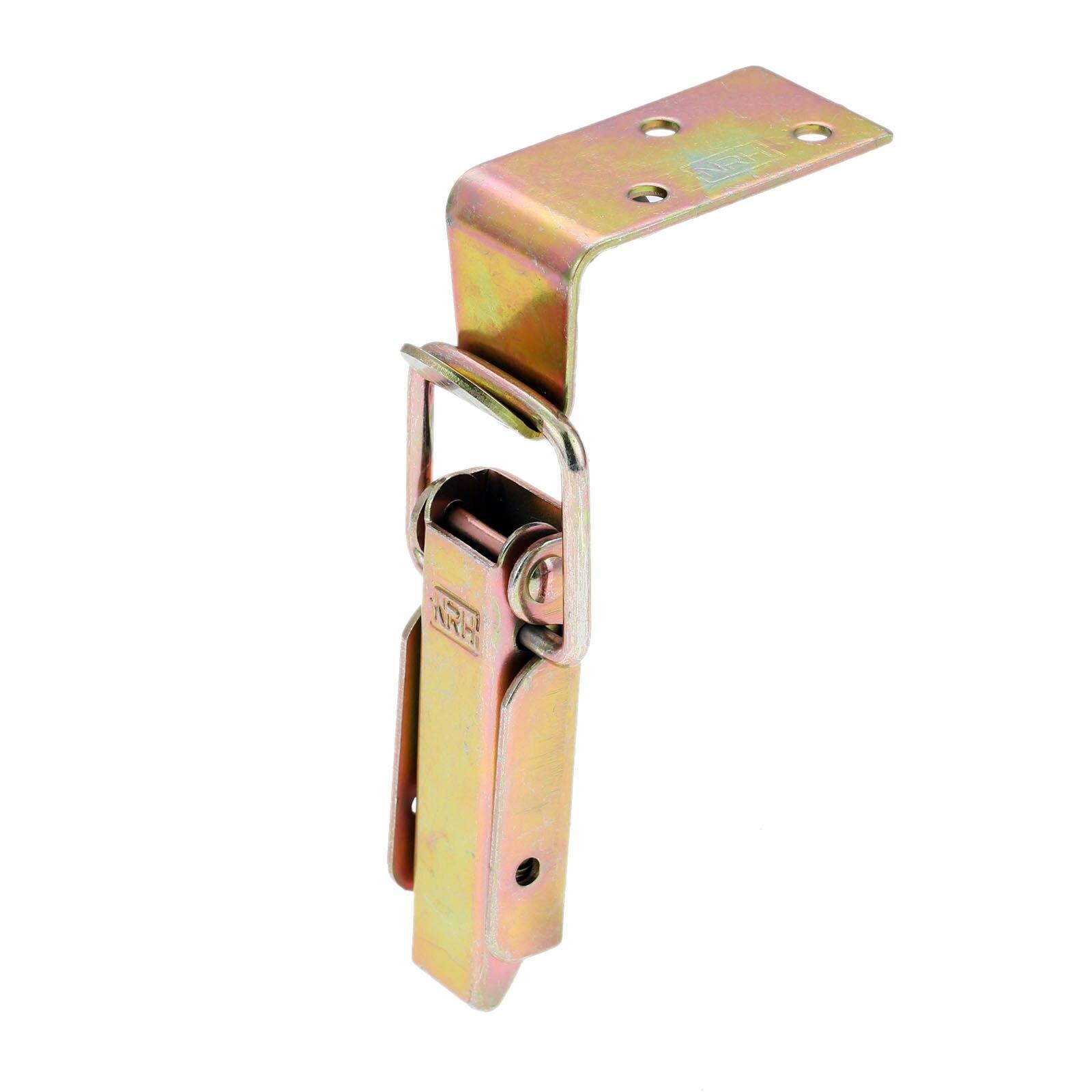 Wooden Box Catch Clasp Hasp Latch Lock Jewelry Box Padlock Toolbox Case Lock Latch Buckle Furniture Hardware 84*35mm