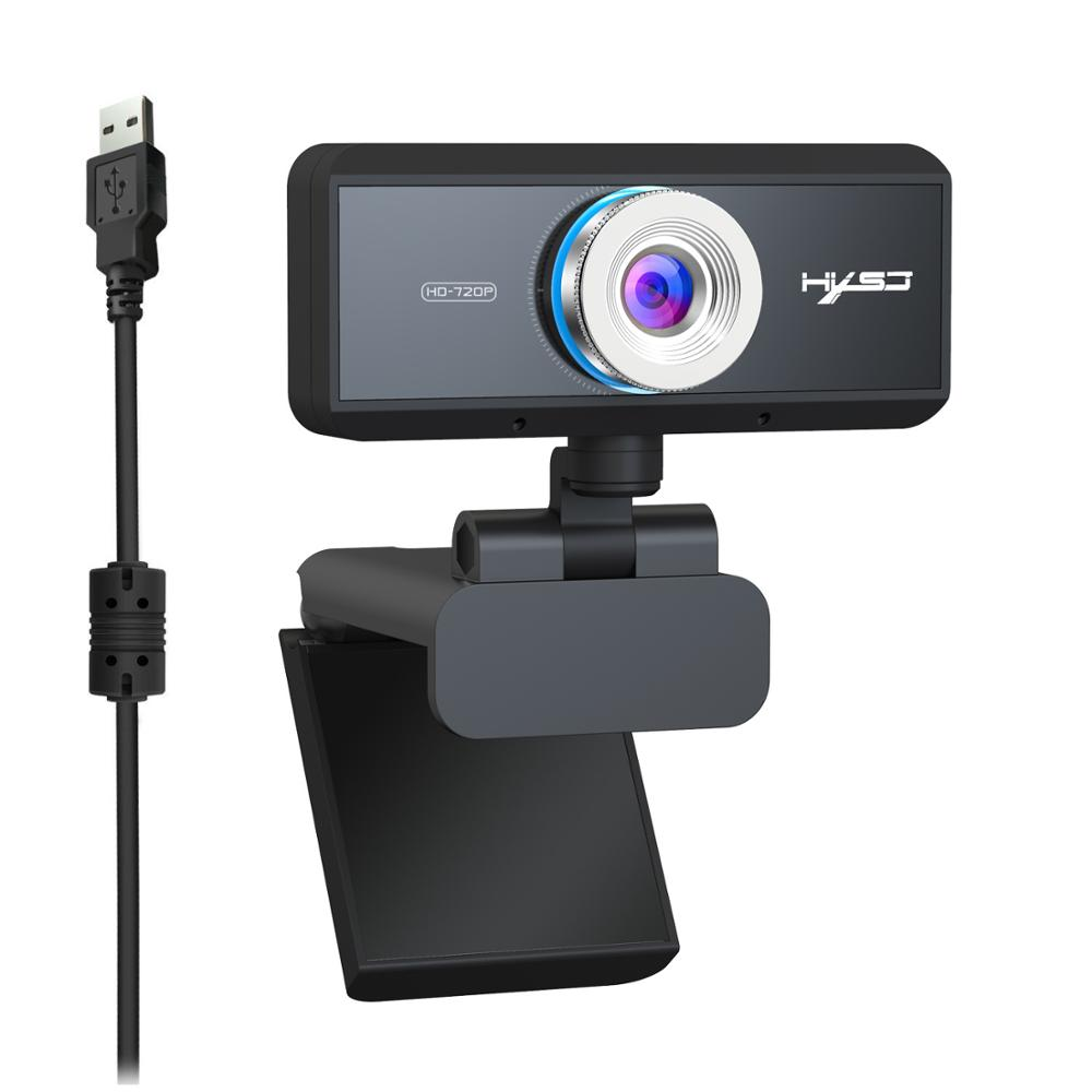 S90 HD 720P Webcam Built-in Microphone Auto Focus High-end Video Call Computer Peripheral Camera for PC Laptop