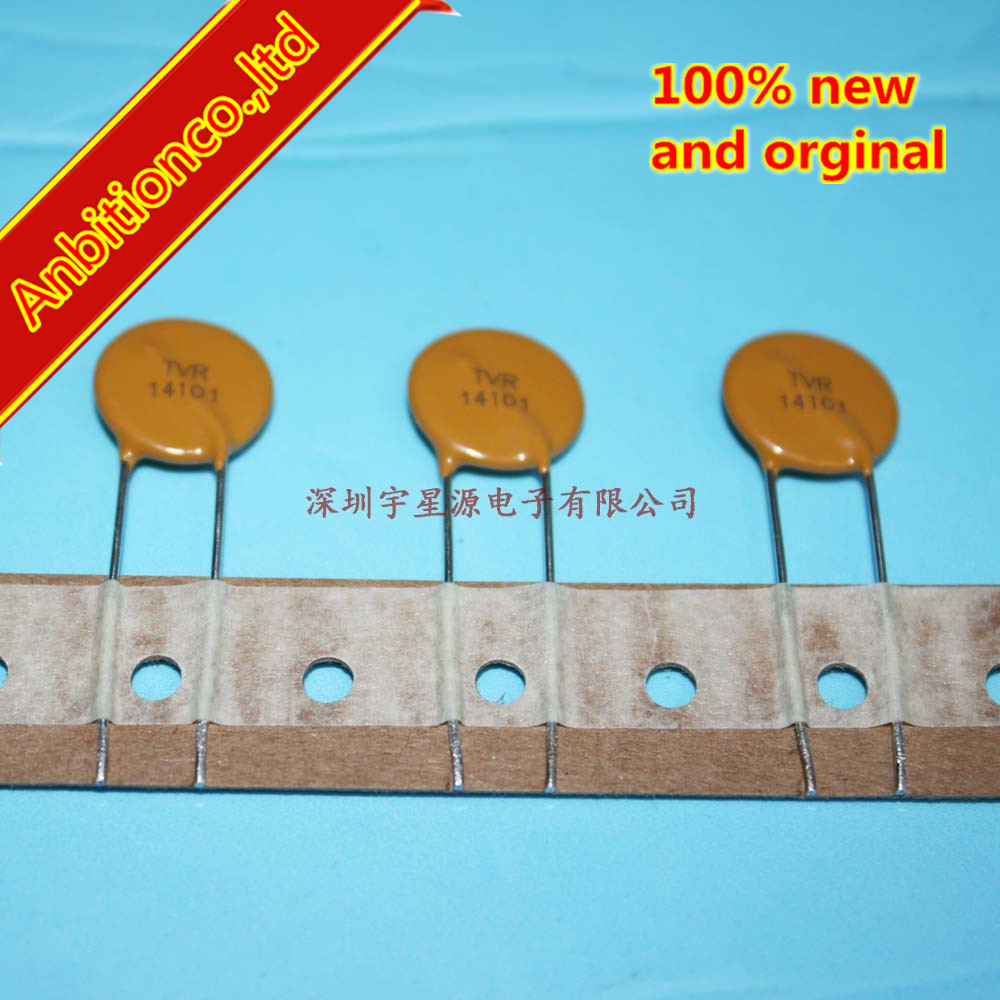 10pcs 100% New Original Surge Protection Varistor TVR14101KSY Brand New Original Authentic TVR14101